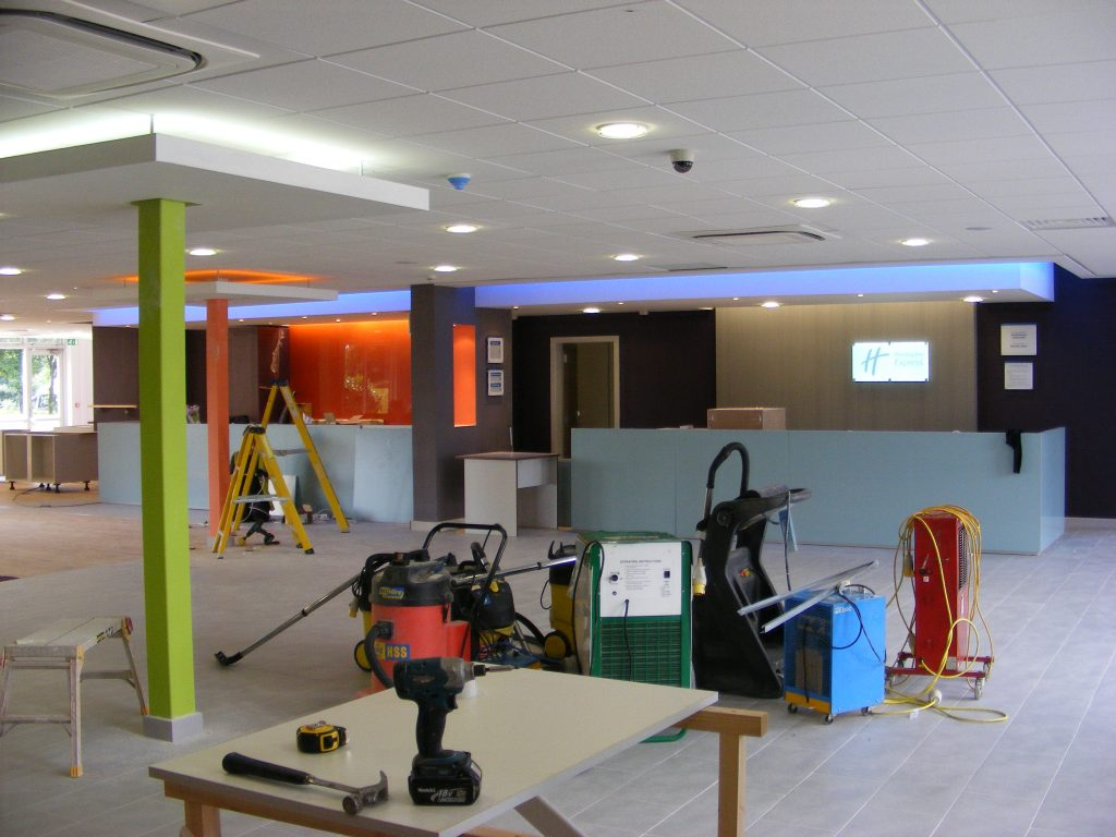 holiday inn preston after refurbishment