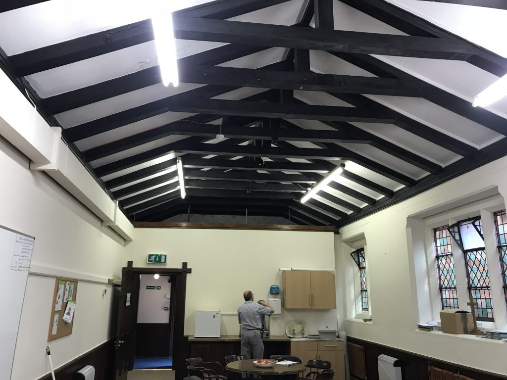 leyland road methodist church suspended ceiling