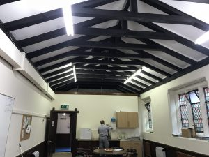 leyland road methodist church suspended ceiling